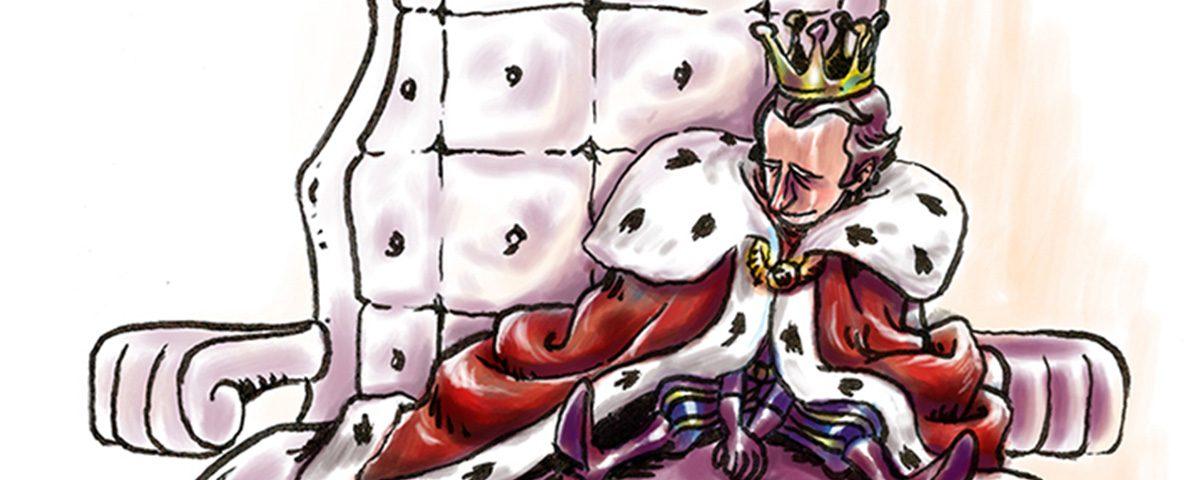 Reizinho - ilustração para a revista do coletivo Caneta Lente e Pincel.