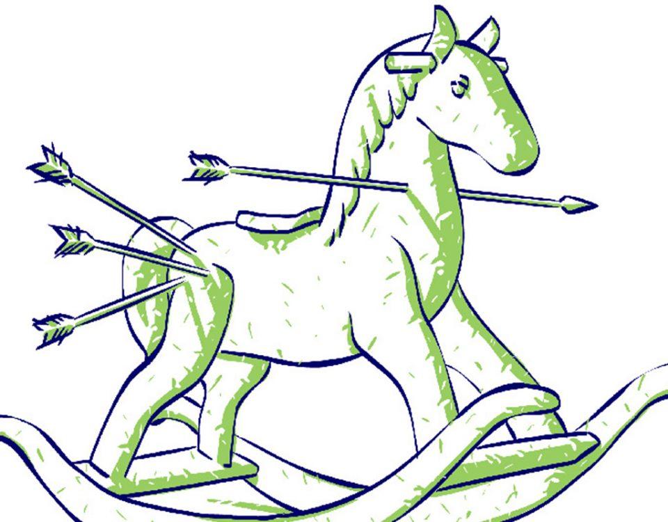Infância - ilustração para a revista do coletivo Caneta Lente e Pincel.