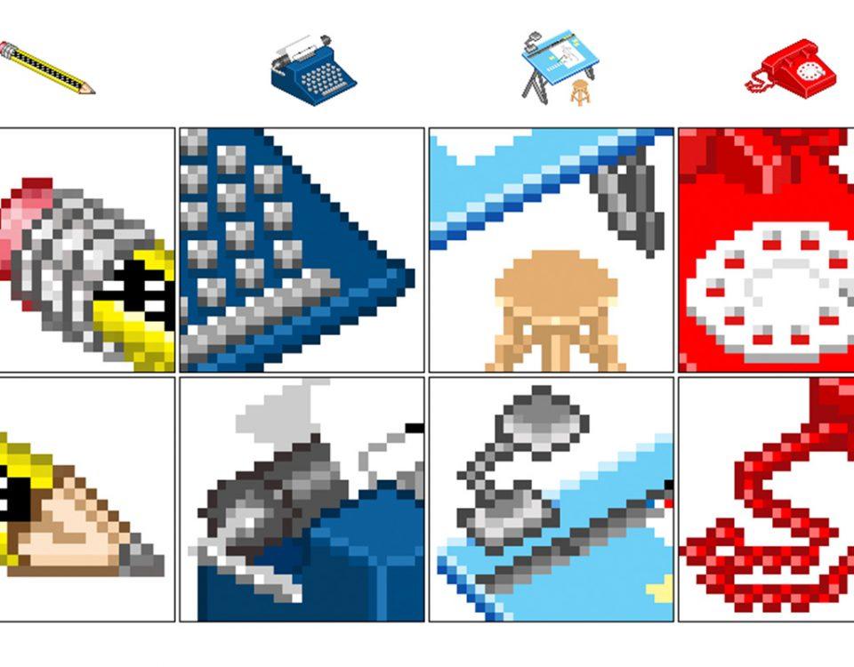 Pixelart - ícones em pixelart para o antigo site.